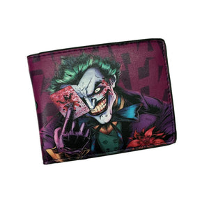 Wallet - Suicide Squad Wallet The Joker Harley Quinn DC Comics Bifold  Wallets With Card Holder
