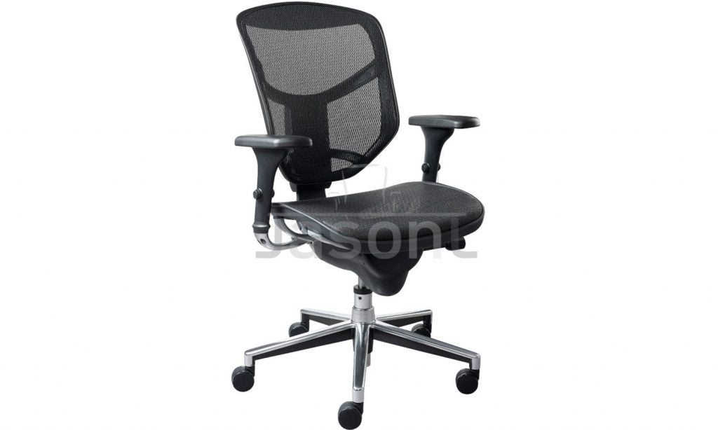 Jasonl Executive Mesh Office Chair - Medium Back