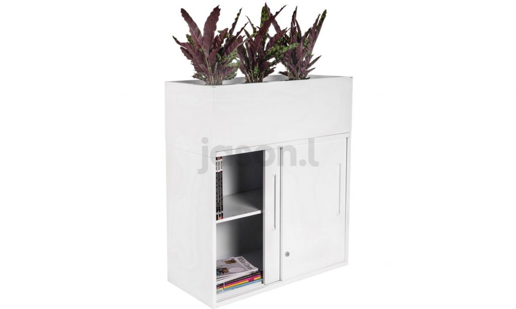 Add some colour and vibrancy to your workplace with this Jasonl Office Storage Unit