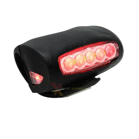 Rear Bike Tail Light - Ultra Bright with 7 LEDs and 3 Light Modes
