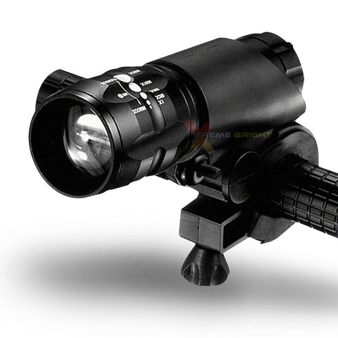 Premium Ultra Zoomble LED Bike Light & Taillight Set - Remove and Use as Flashlight