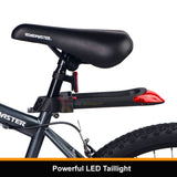 Illumilock Blade Bicycle U-Lock and LED Bike Light Combination