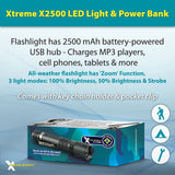 Xtreme Bright® X-2500 LED Light & Power Bank