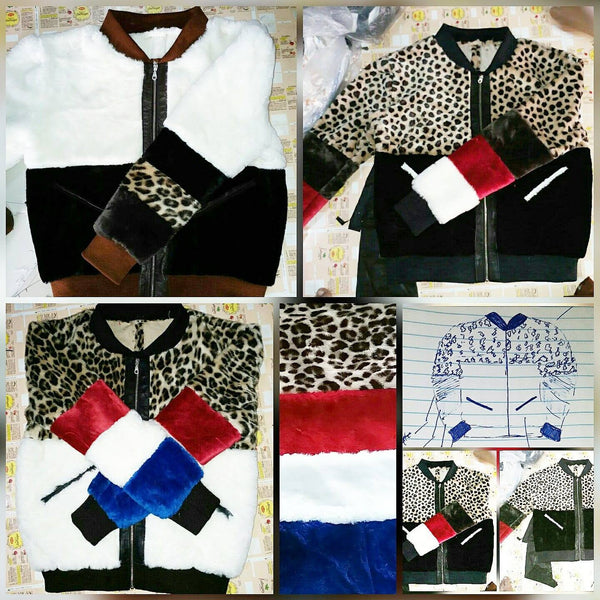 Mixed fur bombers - Reps And Scales