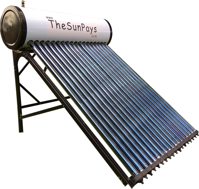 Low Pressure 150l Solar Geyser With Auxiliary Tank 5 Year
