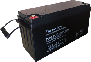 The Sun Pays - 150AH 12V Deep Cycle Gel Battery