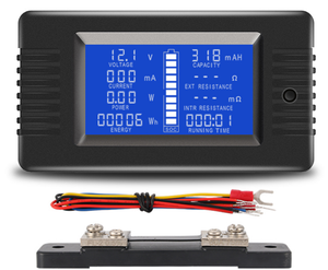 Battery Multi Function Tester and SOC indicator - 100A
