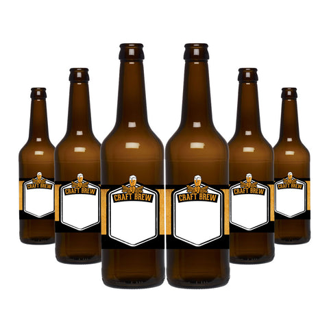 Glass Bottles - Brown