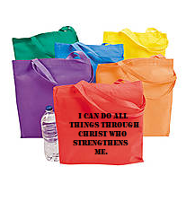 I can do ALL things through Christ Tote