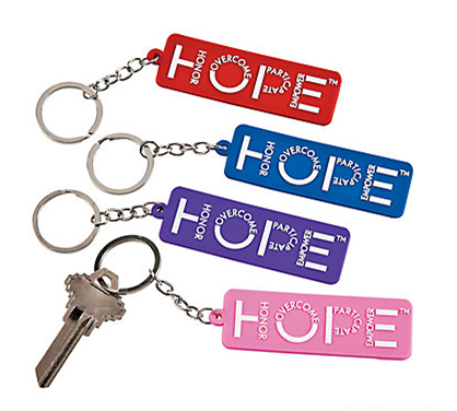 HOPE Key Chain