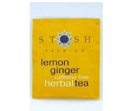 Lemon Ginger Herbal Tea (Caffeine Free) 4 count