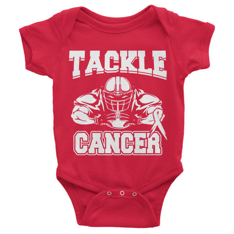Infant short sleeve one-piece (Tackle Cancer)