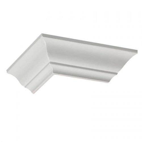 "2.5"" Easy Crown Molding 104' 2 Room kit. 24 inside, 4 outside corners."