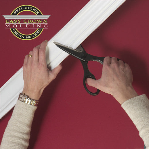 how to cut easy crown molding.