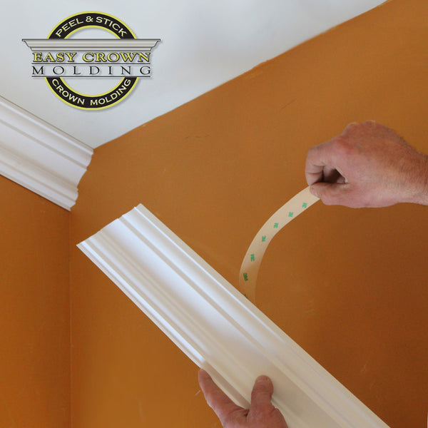 Peel & Stick Easy Crown Molding easier than creative crown molding