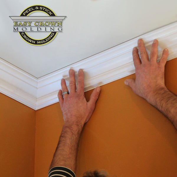 Peel & Stick Easy Crown Molding easier than focal point crown molding