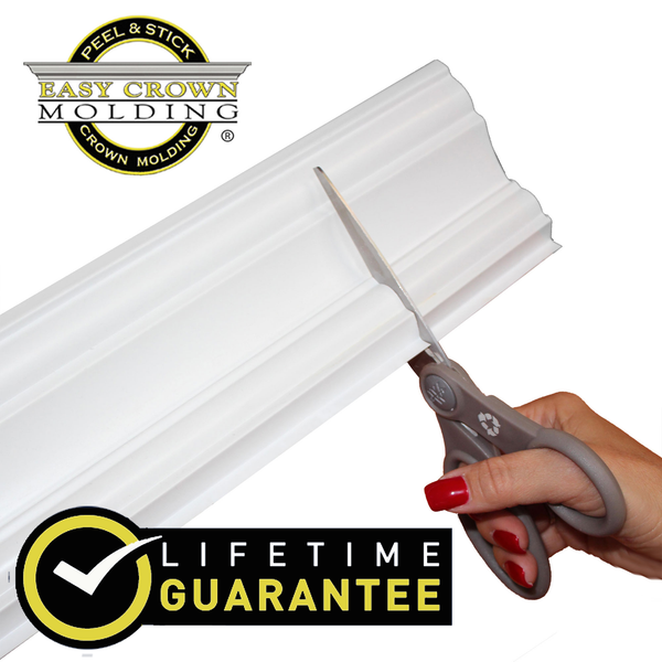 "4"" Easy Crown Molding 104' foot kit for textured ceilings"