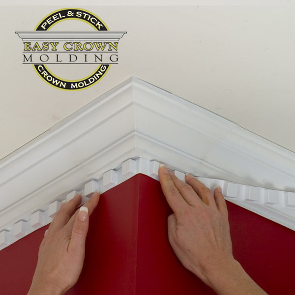 "4 1/2"" Easy Crown Molding 34' Room Kit."