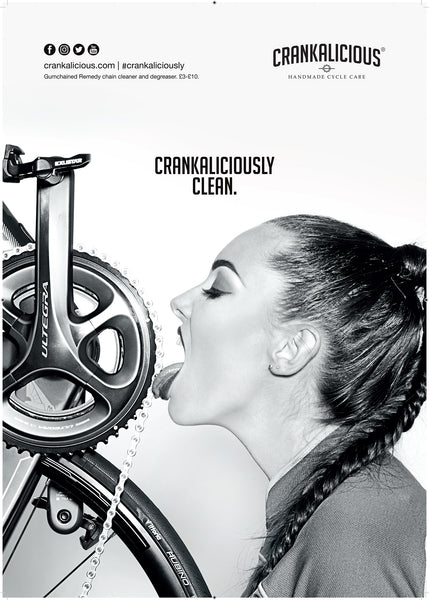 Crankaliciously Clean A2 Posters, Poster - Crankalicious