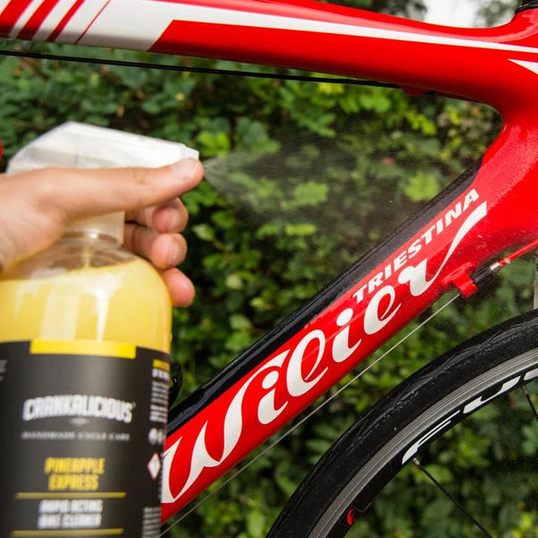 Pineapple Express spray wash 100ml - Trade Case (x12) - HS 340530, Bike Wash - Crankalicious