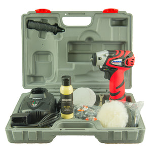 Cordless Machine Polisher Kit, Machine Polisher - Crankalicious