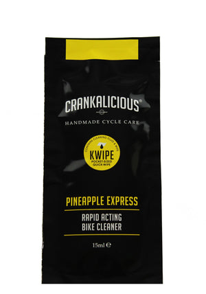 KWIPE (Quick Wipe) Sachets - Pineapple Express Bike Cleaner, KWIPE - Crankalicious