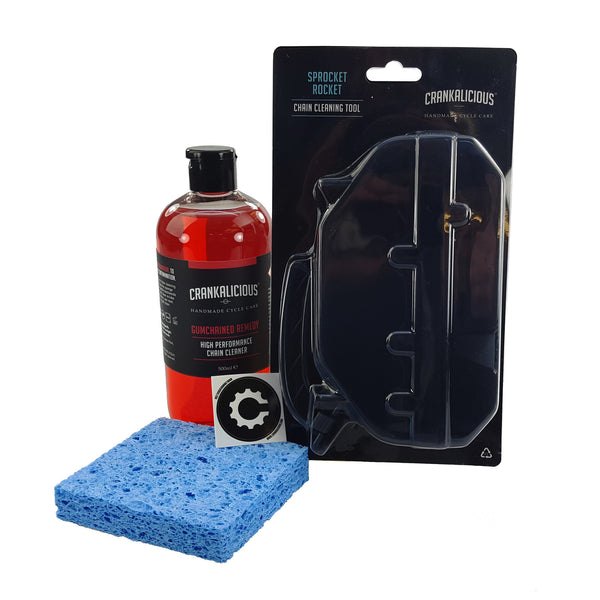 Chain Cleaning Kit, Kit - Crankalicious