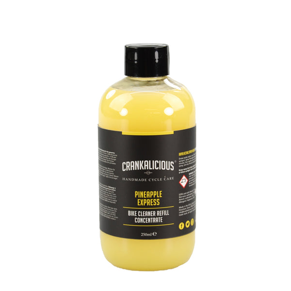 Pineapple Express spray wash 250ml concentrate/refill - Trade Case (x6) - HS 340530, Bike Wash - Crankalicious