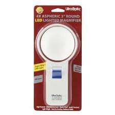 UltraOptix® Round LED Magnifier 4 Power