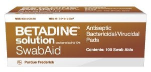 Betadine Wipes