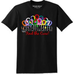 """They All Matter"" Unisex T-Shirt - Black"