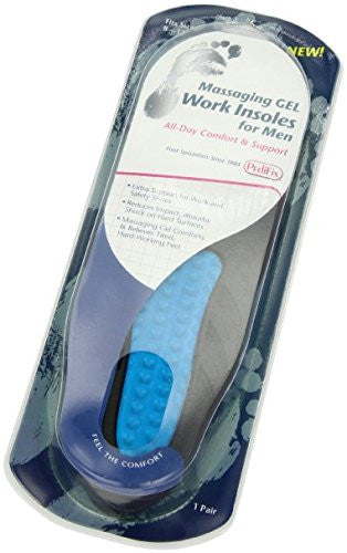 PediFix Massaging Work Insoles for Men