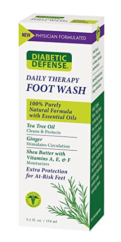 Diabetic Defense Daily Therapy Foot Wash