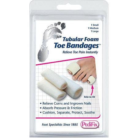 PediFix Tubular-Foam Toe BandagesTM