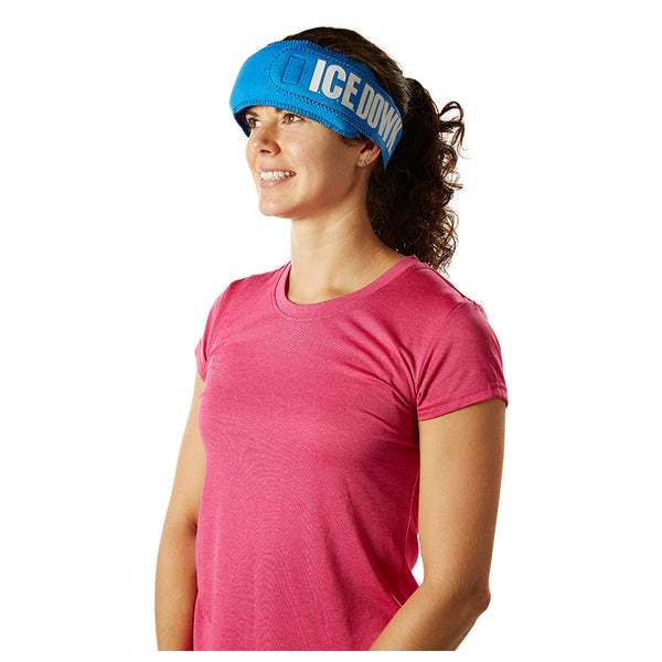 I.C.E. DOWN Migraine Cold Therapy Wrap with Ice Pack