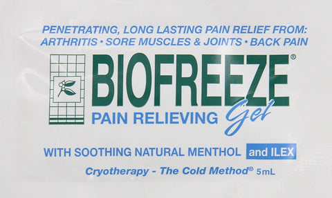 Biofreeze® Pain Relieving Gel - 5 gram Travel Packets