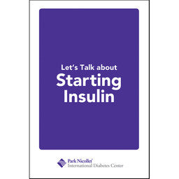 Let's Talk About Starting Insulin 2nd Edition