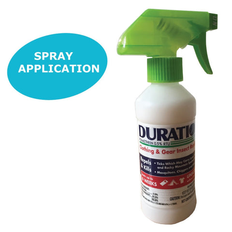 Duration™ Permethrin .5% Clothing Trigger Spray 12 oz.