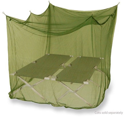 Mombasa Outback Insect Shield Mosquito Net - Double