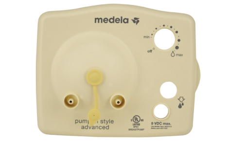 Medela® Faceplate - 9V for Pump in Style Advanced