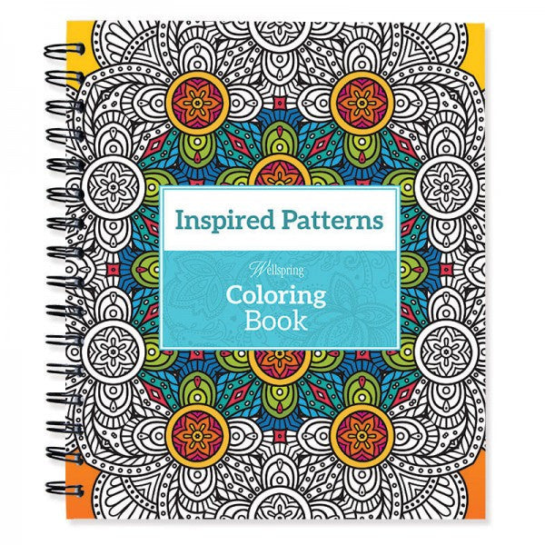 Wellspring® Coloring Book - Inspired Patterns