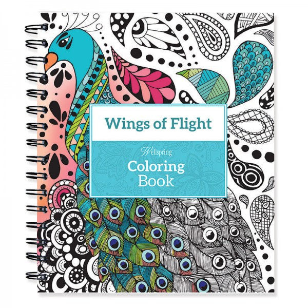 Wellspring® Coloring Book - Wings of Flight