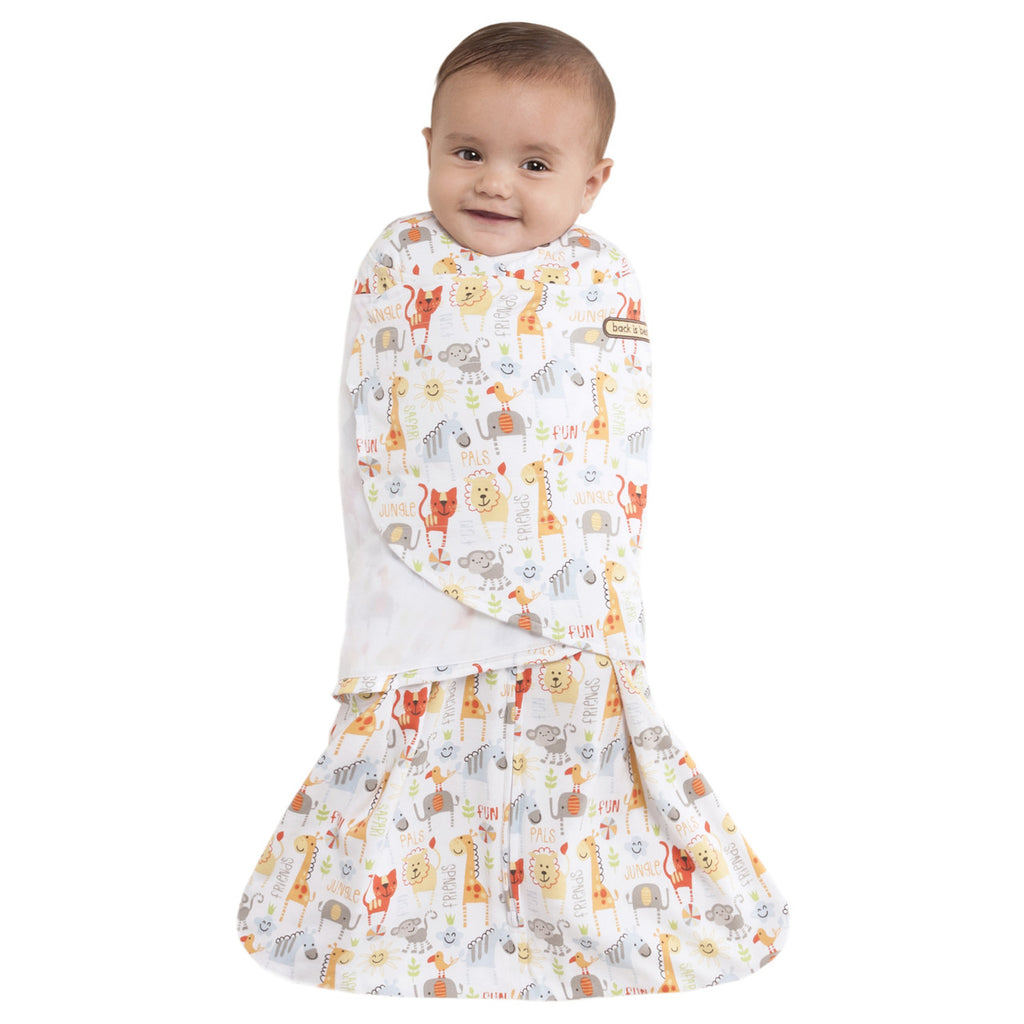 HALO® SleepSack® Swaddle Yellow Jungle Pals
