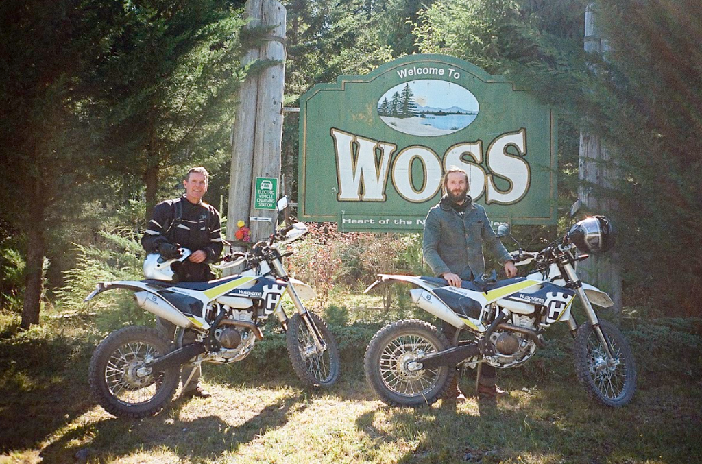A FATHER-SON ENDURO TRIP