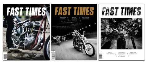 Fast Times Magazine 1-Year Subscription (USA)