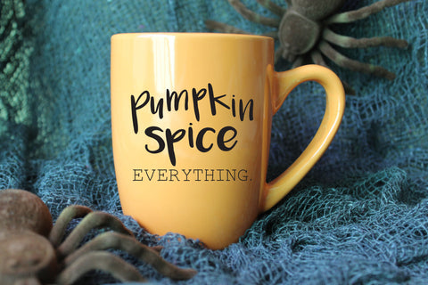 Pumpkin Spice Everything Mug - Halloween Mug - Fall Mug - Autumn Mug - Pumpkin Spice