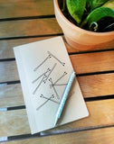 Bobby Pin Notebook // Bobby Pins // Girly Notebook // Blank Notebook // Sketchbook // 40 Page // Note Pad // Memo Book // Sketch Book //