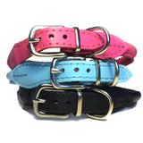 Roll Up Leather Collar
