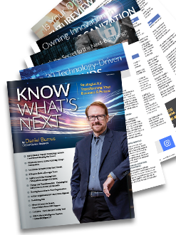 Know What's Next Magazine - Print Version