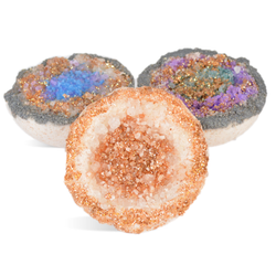 Geode Bath Bomb Recipe - How to Make Geode Bath Bombs